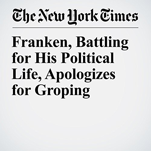 Franken, Battling for His Political Life, Apologizes for Groping copertina