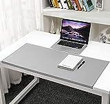 Alfombrilla de escritorio grande con protector de bordes, alfombrilla de escritorio antideslizante, alfombrilla de ratón con bloqueo de bordes para cubierta de escritorio, teclado de computadora, PC