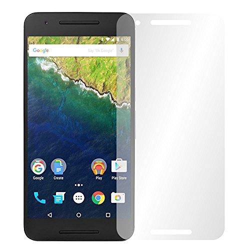 Slabo 4 x Bildschirmschutzfolie für Huawei Google Nexus 6P Bildschirmfolie Schutzfolie Folie Zubehör Crystal Clear KLAR
