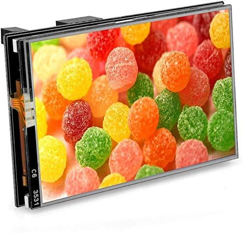 OSOYOO - Pantalla táctil LCD de 3,5 pulgadas SPI TFT Monitor 128 M 60 Hz para Raspberry Pi 4/Pi 3B+/Pi 3/Pi 2/Pi Zero