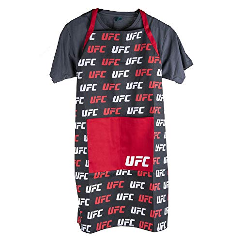 Pro Specialties Group UFC Chef Apron Logo Rush Green, One Size