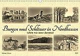 Burgen und Schlösser in Nordhessen (Wandkalender 2021 DIN A3 quer)