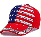 FORBQM Gorra de béisbol Hombres Mujeres Gorra De Béisbol Diamond Snapback Cap Unisex Ajustable Rap Rock Sombreros Gorra De Moda