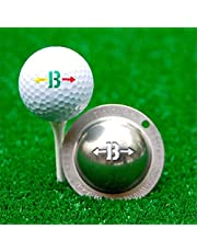YOUANG Herramienta de Marcador de Golf de Acero Inoxidable Marcador de Golf para Hombres Y Mujeres Accesorios de Golf