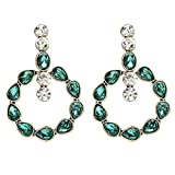 Bohemian Style Crystal Dangle Earrings Jewelry Maxi Fashion Girls Collection Earrings Accessories