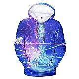 Sweatsà Capuche,Beyblade Burst Anime Series Men's 3D Fashion Pullover Unisex Leisure Outdoor Hoodies Sportswear Multicolor XXS