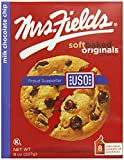 Mrs. Fields Milk Chocolate Chip Cookies, 8 Count (Pack of 2)