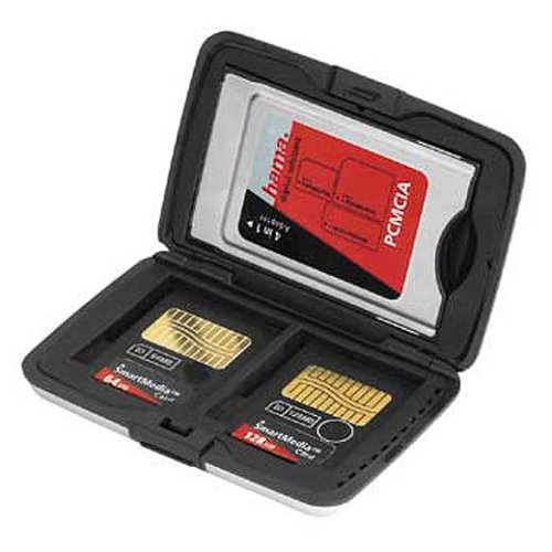 Hama PC-Card/Card Adapter+SmartMedia Alu-Case