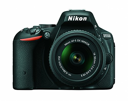 Nikon D5500 DX-format Digital SLR w/ 18-55mm VR II...