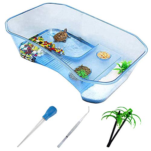PINVNBY Plastic Turtle Tank