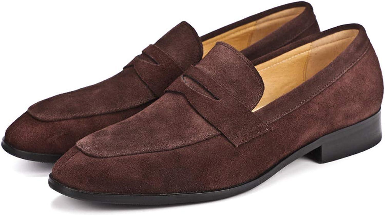 Men's Suede Dress shoes, Men's Matte shoes Men's Leather Suede shoes shoes shoes