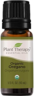 Plant Therapy Organic Oregano Essential Oil 100% Pure, USDA Certified Organic, Undiluted, Natural Aromatherapy, Therapeuti...
