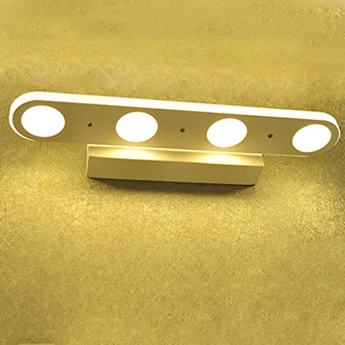 TYXHZL kast licht LED-spiegel schijnwerper Moderne minimalistische acryl badkamerlamp wandlamp make-up lamp Fashion-wand lamp, B