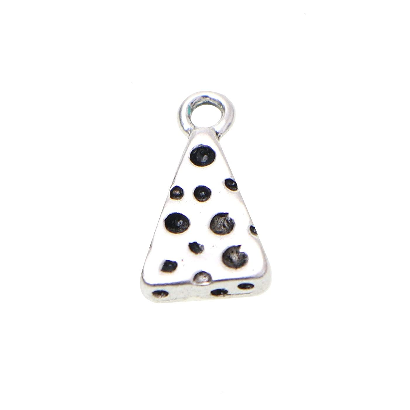 Monrocco 20Pcs Swiss Cheese Charm Swiss Cheese Charms Pendants for Jewelry Making Bracelet Necklace