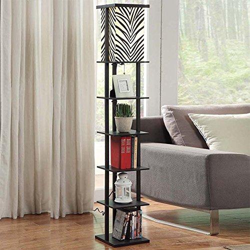 Wvfguj Wandlamp voor binnen Floor lamp Fabric massief hout 26 * 26 * 160cm Nordic woonkamer slaapkamer nachtkastje sofa creatieve persoonlijkheid verlichting vloerlamp (Size : Five)
