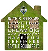 """Product Type : Sporting_Goods 12"""" House shapped sign Positive Family message Package Dimensions : 13.0 """" L X 13.0 """" W X 7.0 """" H"""