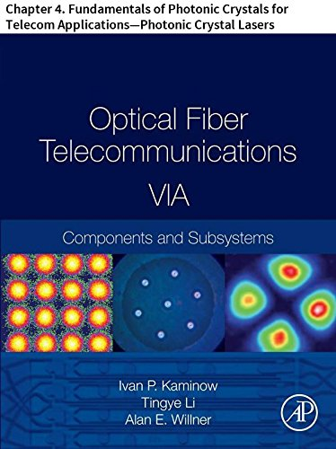 Optical Fiber Telecommunications VIA: Chapter 4. Fundamentals of Photonic Crystals for Telecom Applications—Photonic Crystal Lasers (Optics and Photonics) (English Edition)