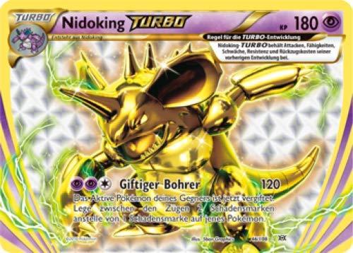 Nidoking Turbo 46/108 Pokemon XY Evolution Sammelkarte - Deutsch - Cardicuno