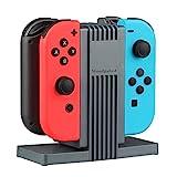 MPTECK @ Caricabatteria Stand Caricatore Stazioni Ricarica per Nintendo Switch NINTENDO SWITCH...