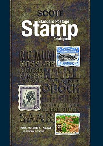 Scott 2015 Standard Postage Stamp Catalogue Volume 5: Countries of the World N-Sam (Scott Standard Postage Stamp Catalogue)