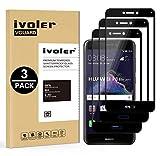iVoler [3 Pack] Pellicola Vetro Temperato per Huawei P8 Lite 2017, [Copertura Completa] Pellicola Protettiva Protezione per Schermo per Huawei P8 Lite 2017