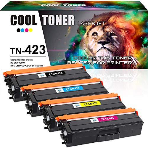 Cool Toner Kompatibel Tonerkartusche Replacement für TN-423 TN423 TN-421 für Brother MFC-L8690CDW MFC-L8900CDW HL-L8260CDW HL-L8360CDW DCP-L8410CDW MFC L8690CDW L8900CDW HL L8360CDW L8260cdw
