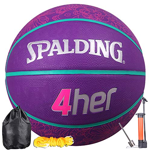 Fantastic Prices! SSLLPPAA Basketball Wear-Resistant Non-Slip Women's No. 6 Ball Training Basketball...