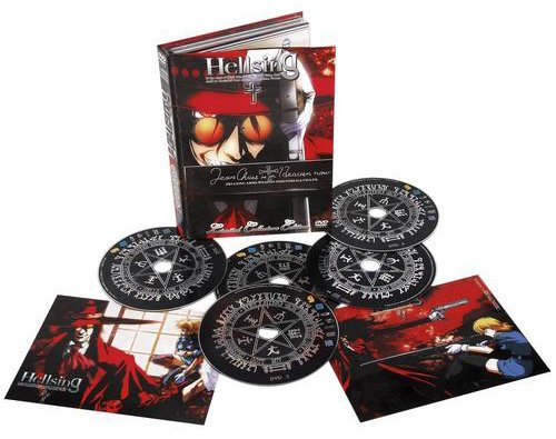 Hellsing - TV-Box (inkl. Soundtrack) [4 DVDs] [Limited Collector's Edition]
