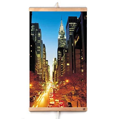 potente para casa CG Home Calefacción por infrarrojos Calefacción de pared Manhattan Caja-placa calefactora …