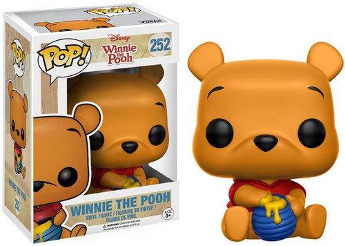 Funko 11260 WINNIE THE POOH 11260 POP Vinyl Disney Seated Pooh Figure, Multi