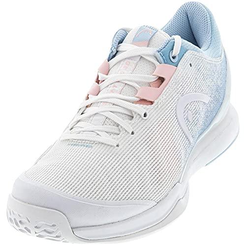 HEAD Sprint Pro 3.0 Women Whlb, Zapatillas de Tenis Mujer, Blanco y Azul Claro, 37 EU