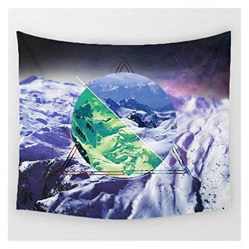WWDD Lwmnbhd Escena Nocturna tapicería de la Pared decoración Colgante (Color : S49)