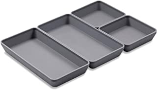 Sheet Pan, Xomoo Silicone Cheat Sheets Pans Dividers Baking Half Sheet Nonstick Bakeware for Cooking Oven Safe Baking Trays Easy Clean (4 pack)