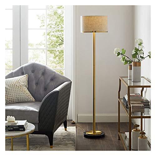 Lampe sur pied Moderna simple lámpara de pie vertical lámpara de mesa de alta calidad Metal Tela Home Hotel Decoración Sofá lámpara de noche Lámparas de sala de lectura de la lámpara de piano,Lampes