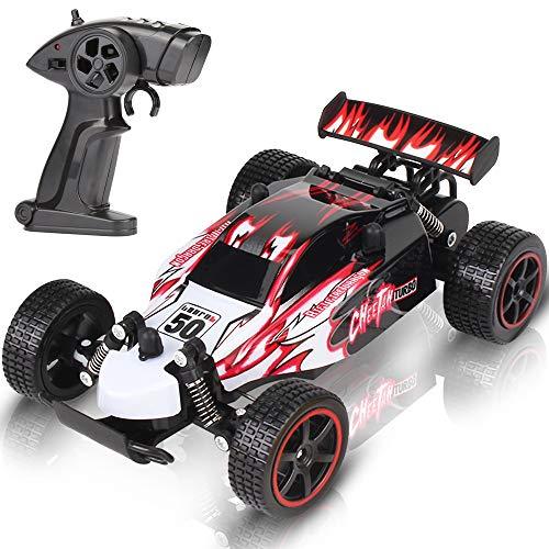 Ferngesteuertes Auto Hohe Geschwindigkeit RC Rennauto Rennfahrer 1:20 Maßstab Fernbedienung Lkw Fahrzeug 15KM/H 2,4GHz 2WD Elektro Funkfernsteuerung Off-Road Buggy Spielzeug für Kinder Geschenk