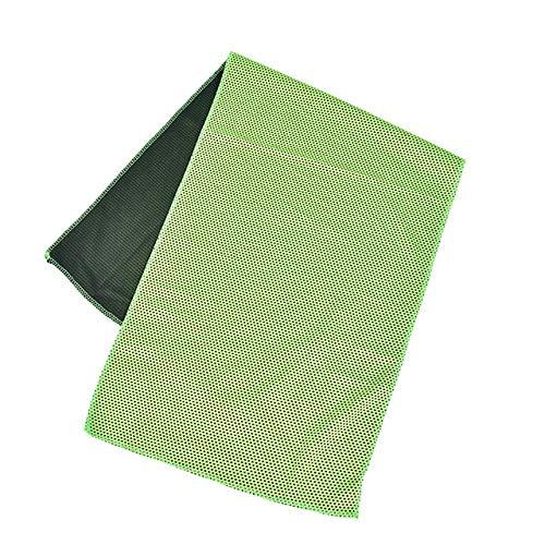 MAWA Toalla Deportiva portátil de Microfibra de Secado rápido, paño de Viaje, Toalla para Acampar, natación, Gimnasio - Verde