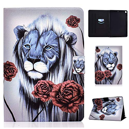 WHWOLF Suitable for iPad Air 2019 /iPad Air 3 Case (10.5') Tablet PU Leather Folio Protective Cover with Multiple Viewing Angles -sd35