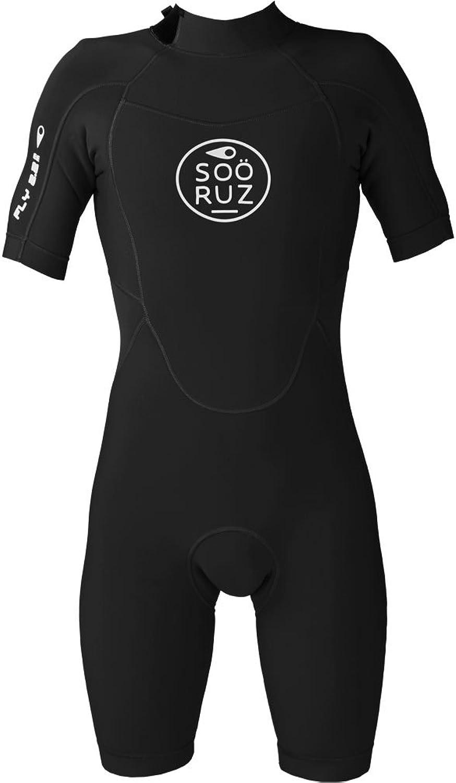 SOÖRUZ Fly 2 2 Back Back Back Zip Shorty 2018 schwarz B07C57YGFR  Reichhaltiges Design 56cfc4