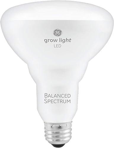 GE BR30 LED Grow Lights for Indoor Plants, Full Spectrum, 9-Watt Grow Light Bulb, Plant Light Bulb with Balanced Ligh...