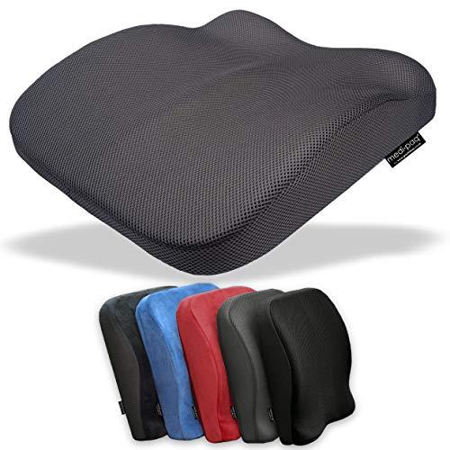 Medipaq El cojín de espuma de memoria con contorno en el asiento y...