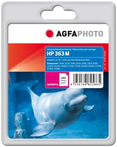AgfaPhoto APHP363MD Tinte für HP PS8250, 6 ml, magenta, 13.5 x 10.8 x 4