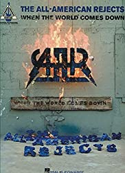 All-American Rejects When The World Comes Down Guitar Rec Ver Tab Book (Guitar Recorded Versions)