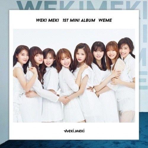 Weki Meki-[WEME] 1st Mini Album B Ver Limited Edition CD+Booklet+PhotoCards K-POP SEALED
