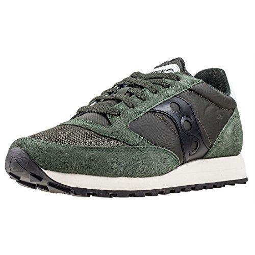 Saucony Jazz Original Vintage, Zapatillas de Cross Unisex Adulto, Verde (Green/Black 8), 42.5 EU