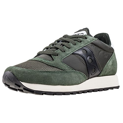 Saucony Jazz Original Vintage, Zapatillas de Cross para Hombre, Verde (Green/Black 8), 40.5 EU