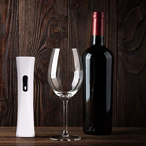 negaor Abridor de vino eléctrico automático de botellas de vino eléctrico y recargable por USB, sacacorchos automático