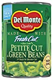 Del Monte Petite Cut Green Beans, 14.5 Oz, (Pack Of 12)