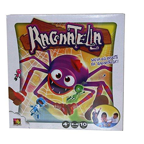 Rocco Giocattoli Ragnatella Giochi da Tavolo, Multicolore, 8027679057014