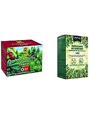 Compo Fungicida Fitóftora y Gomosis, Preventivo y curativo, Apto para jardinería exterior doméstica, Polvo soluble, 250 gr