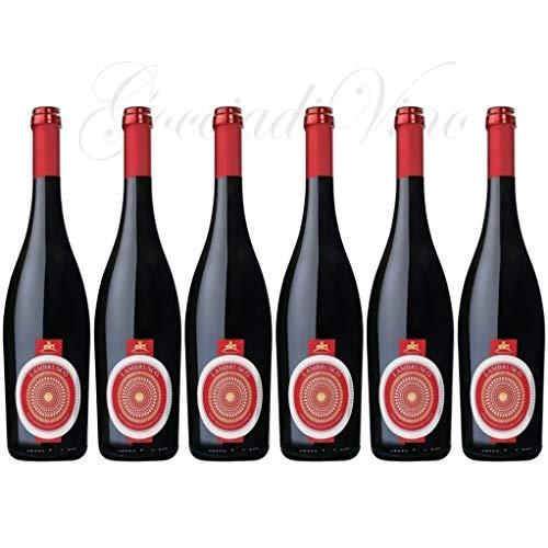 6 bottiglie LAMBRUSCO DOLCE DI MANTOVA Feudo Italia 75 cl. frizzante